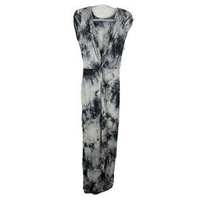 Rolla Coster Black And White Tie Dye Maxi Twist Fr